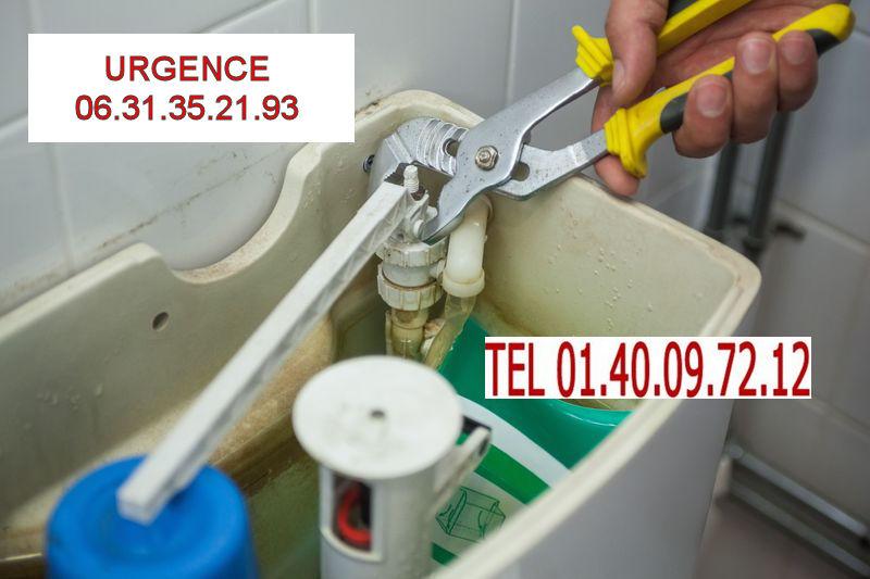 toilettes wc sanitaires plombier Paris 20